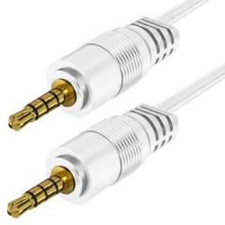 AC-1-1M-White   Jack braided cable