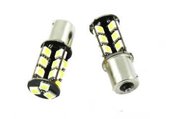 Car LED Bulb BA15S 27 SMD 5050 CAN BUS