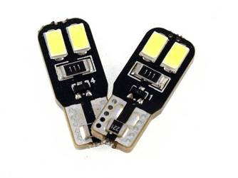 Car LED bulb W5W T10 4 SMD 5630 CAN BUS SIDED