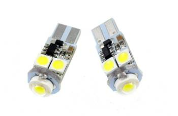 Car LED bulb W5W T10 HIGH POWER SMD 5050 4 + CAN BUS