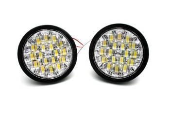 DRL 10   Lights LED daytime   round  90 mm