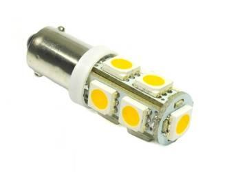 WW LED Bulb BA9S Car SMD 9 5050 White Heat