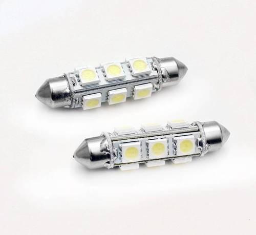 C5W LED Bulb Car 12 SMD 5050 360st