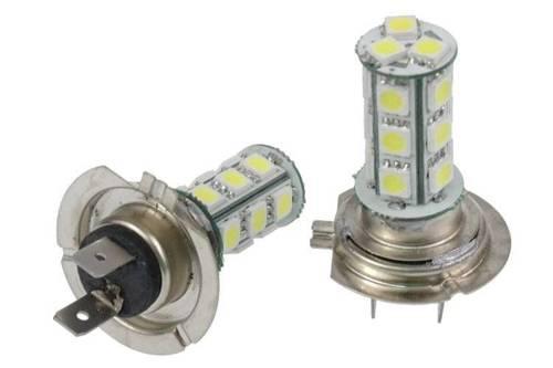 Car LED Bulb H7 18 SMD 5050