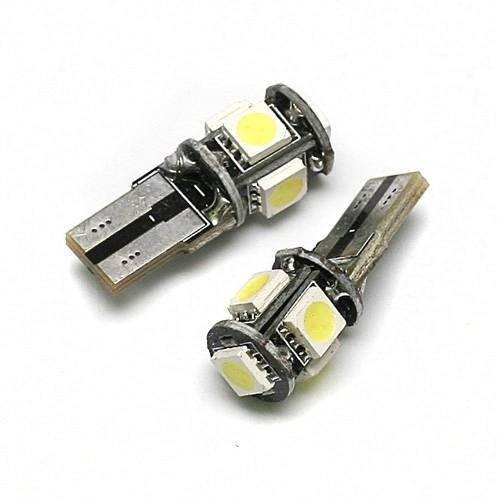 Car LED bulb W5W T10 5 SMD 5050 CAN BUS