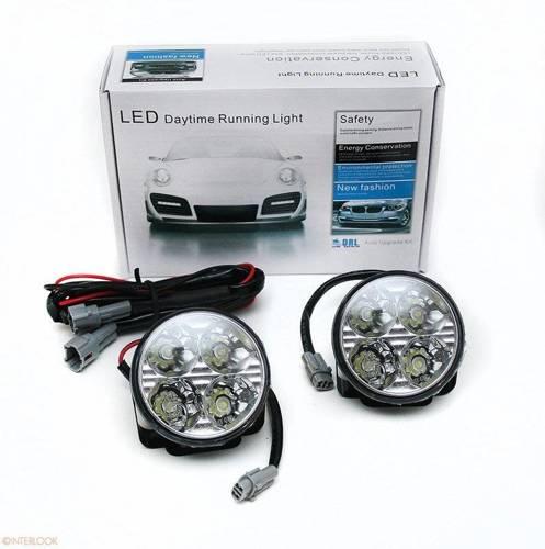 DRL 05 PREMIUM | Lights HIGH POWER LED daytime running | round  70 mm