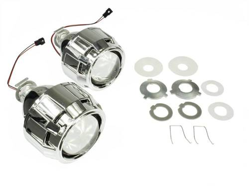 Kit lenses with adapters and grille Apollo