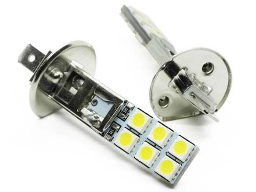 LED bulb Car H1 12 SMD 5050