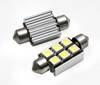 C5W LED Bulb Car 6 SMD 5050 CAN BUS