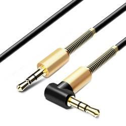 AW-1-1M-Black | Kabel Winkel Jack | vergoldet | HQ