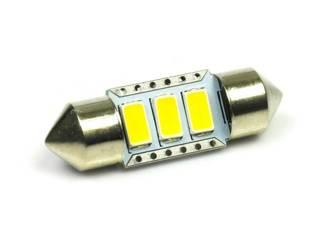 Auto LED-Birne C5W 3 SMD 5630 Warmweiß