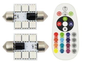 Auto LED-Birne W5W T10 1W COB LED