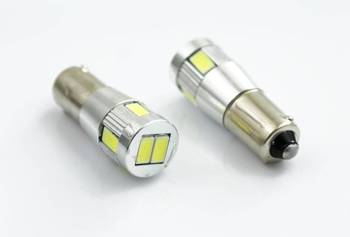 Auto-LED-Lampe BA9S 5630 SMD 6 POWER-CAN-BUS