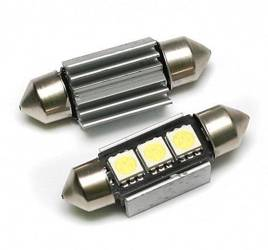 Auto-LED-Lampe C5W 3 5050 SMD CAN BUS