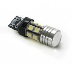 Auto-LED-Lampe T20 W21 / 5W + 5W CREE SMD 12 5050