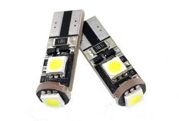 Auto-LED-Lampe W5W T10 3 SMD 5050 CAN BUS