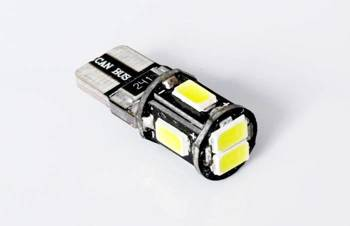 Auto-LED-Lampe W5W T10 6 SMD 5630 CAN BUS