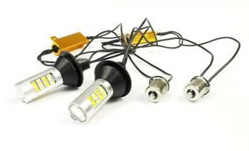 DRL mit 2in1-Anzeige | Birnen 42 SMD 2323 | Lichter LED-Tag | automatische Modul
