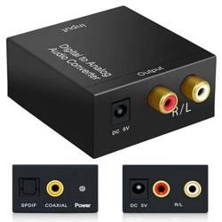 F101   AUDIO Signalwandler - Coaxial / SPDIF TOSLINE - RCA