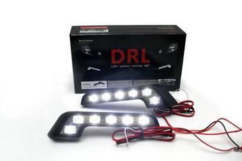 DRL 09   L-form LED-Tagfahrlicht mit FLUX dioden
