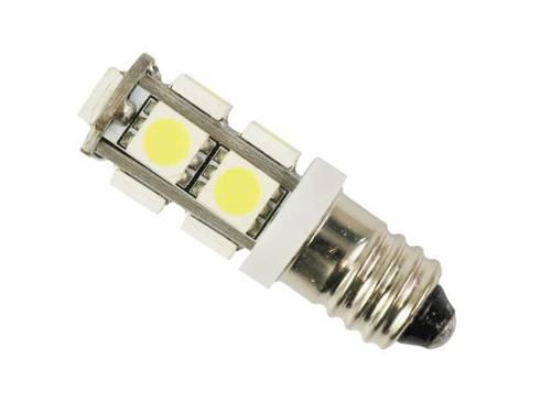 Auto-LED-Lampe E10 9 SMD 5050 12V