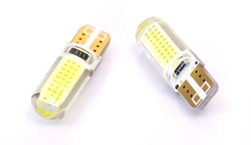 Auto-LED-Lampe W5W T10 1W COB 360st Silikon