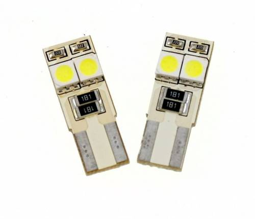 Auto-LED-Lampe W5W T10 4 SMD 5050 CAN-BUS-SIDED