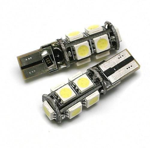 Auto-LED-Lampe W5W T10 5050 9 SMD CAN BUS