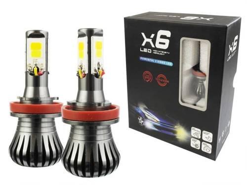 COB LED-Lampen setzen H9 H11 DUAL COLOR JDM