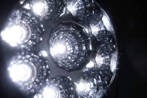 DRL 04 / Rundes ø70mm LED-Tagfahrlicht mit FLUX Dioden