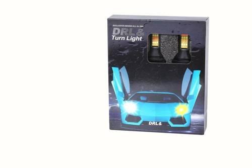 DRL mit 2in1-Anzeige   Glühbirnen 81 SMD 3030 60W