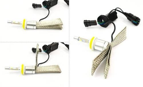 Set CREE LED H9 H11 Truewhite ™ Technologie 9600 lm R3