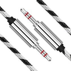 AB-1.5-1.5M | Kabel Mini Jack 1,5M | Usztywnione złącza | 5 kolorów
