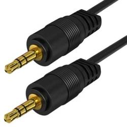 AC-1-3M-Black   Kabel Jack z oplotem