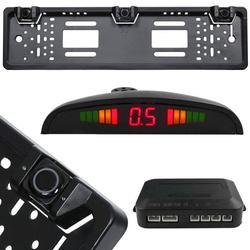 ADP-888-3 | Czujniki parkowania w ramce tablicy rejestracyjnej z wyświetlaczem LED oraz sygnałem akustycznym