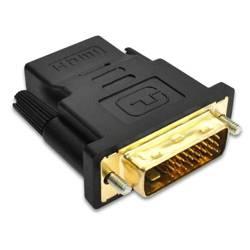 HD24-1   Przejściówka HDMI - DVI   GOLD   4K   3D