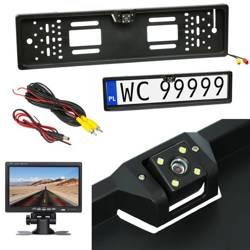 LPC-4LED | Kamera cofania w ramce tablicy rejestracyjnej EU
