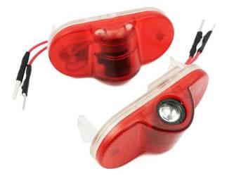 PMC-S3 LED LOGO Projektor dedykowany SKODA OCTAVIA II 2 PMC-S3