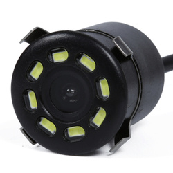 PZ404 | Kamera cofania 8 LED okrągła