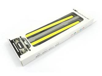 Światła LED COB do jazdy dziennej | 17 cm |  2x 6W  | DRL COB