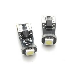 Żarówka samochodowa LED W5W T10 1 SMD 5050 CAN BUS