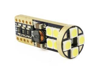 Żarówka samochodowa LED W5W T10 12 SMD CREE 3030 BLISTER