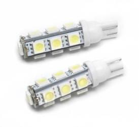 Żarówka samochodowa LED W5W T10 13 SMD 5050