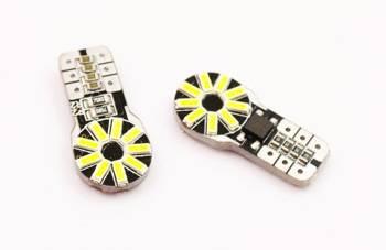 Żarówka samochodowa LED W5W T10 18 SMD 4014 CAN BUS