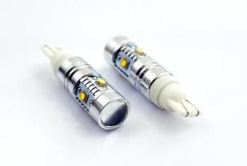 Żarówka samochodowa LED W5W T10 5 x CREE 10W HIGH POWER