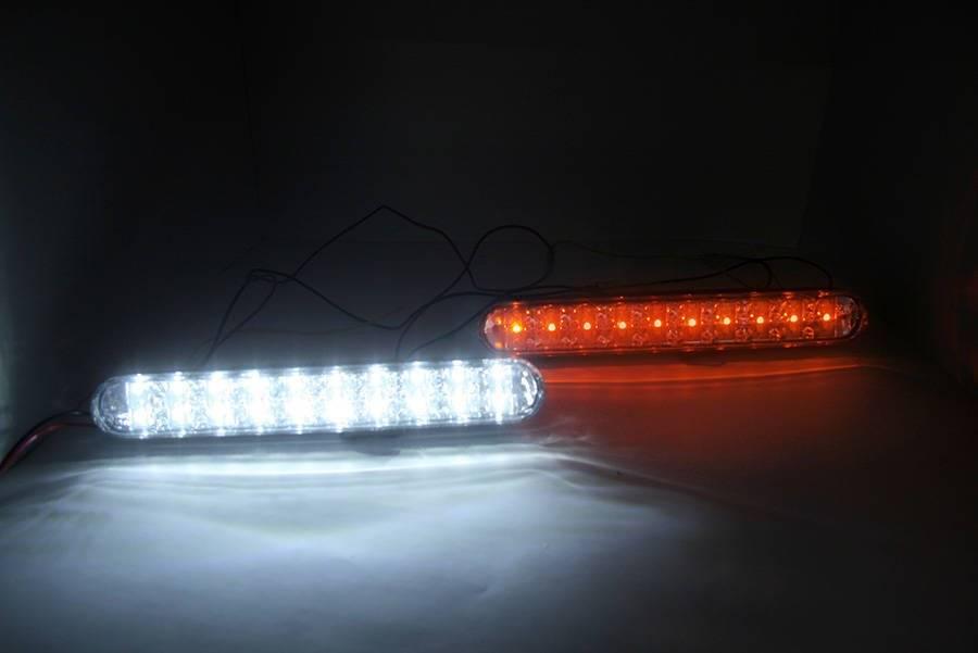 Drl 06 światła Led Do Jazdy Dziennej Z Kierunkowskazem Interlook
