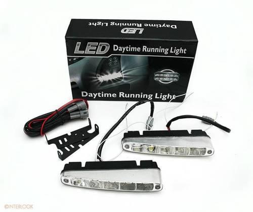 DRL 07 PREMIUM | Światła HIGH POWER LED do jazdy dziennej | skośne