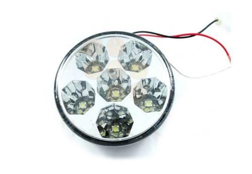 DRL 13 PREMIUM | Światła HIGH POWER LED do jazdy dziennej | okrągłe ø 90 mM