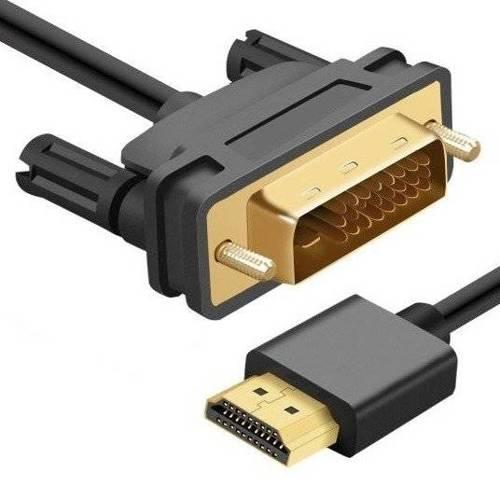 HD-2-2M-Black   Kabel HDMI - DVI   HDMI 2.0   4K   3D