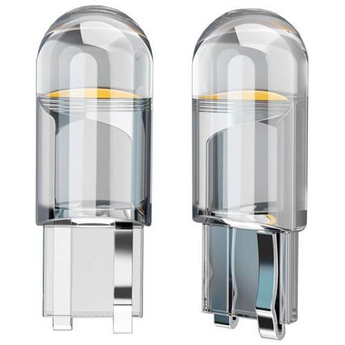 Żarówka LED W5W T10 HPC COB Transparent   Krystaliczna powłoka